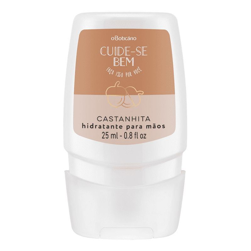 Creme Desodorante Mãos Cuide-se Bem Castanhita, 25ml