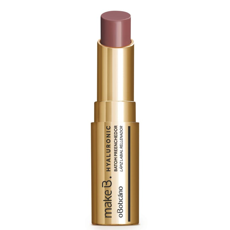 Batom Stick Nude Chic FPS 15 Make B. Hyaluronic, 3,4 g