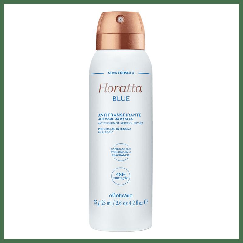 Desodorante Antitranspirante Aerosol Floratta Blue, 75g/125ml