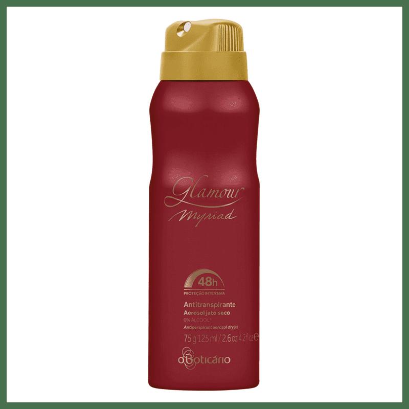 Desodorante Antitranspirante Aerosol Glamour Myriad 75g
