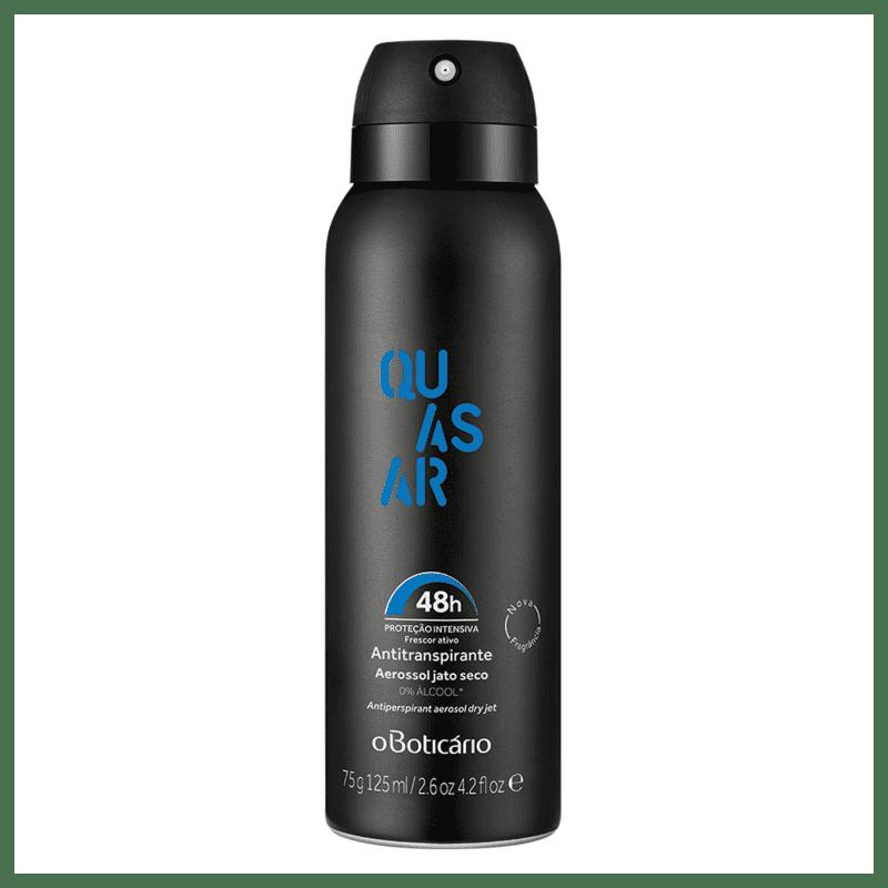 Desodorante Antitranspirante Aerossol Quasar 75g/125ml