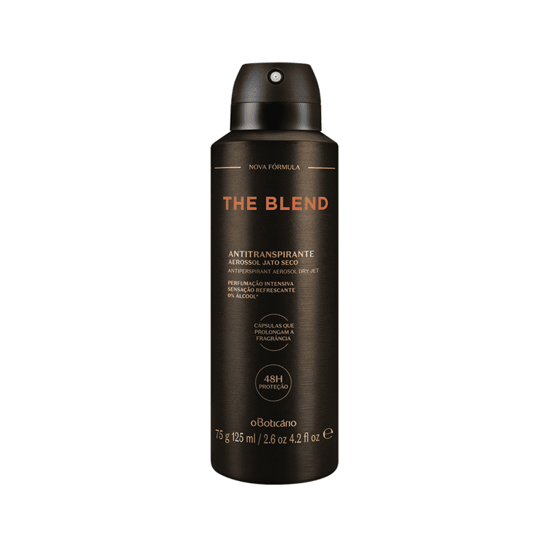 Desodorante Antitranspirante Aerossol The Blend 75G/125Ml Versão 2