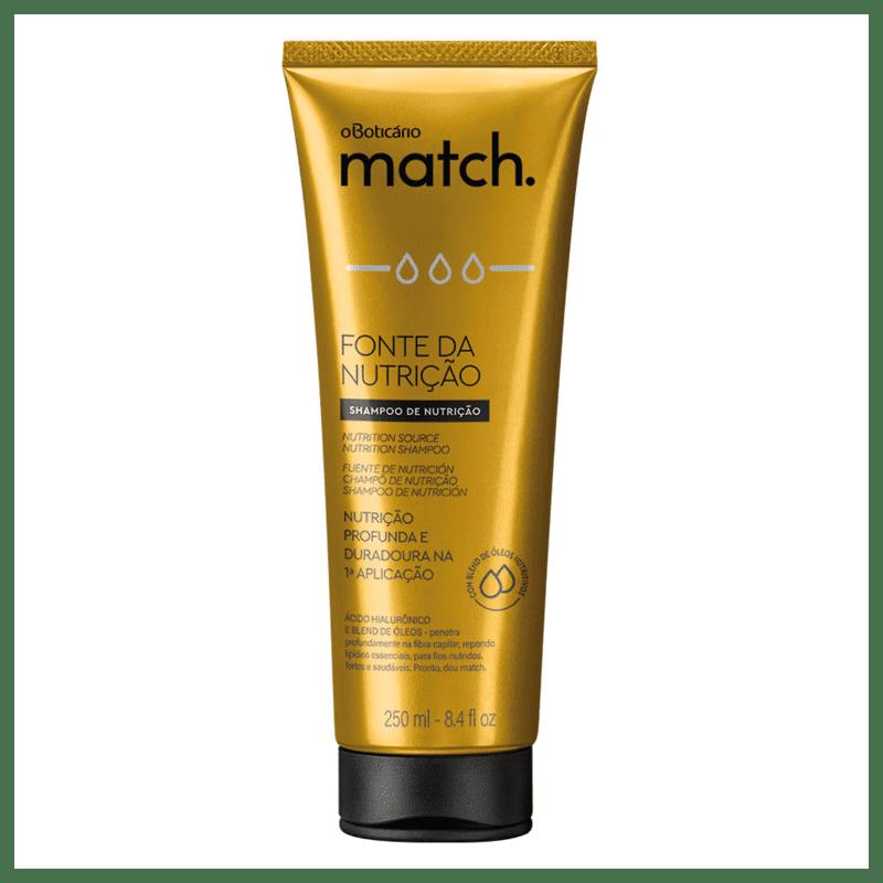 Shampoo Match Fonte da Nutrição, 250ml