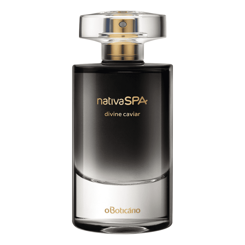 Nativa SPA Divine Caviar o Boticário - Desodorante Colônia Feminino 75ml