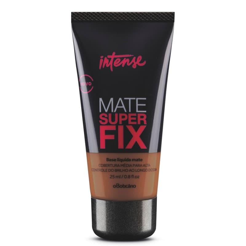Base Líquida Mate Intense Superfix, 25 ml Escuro 3