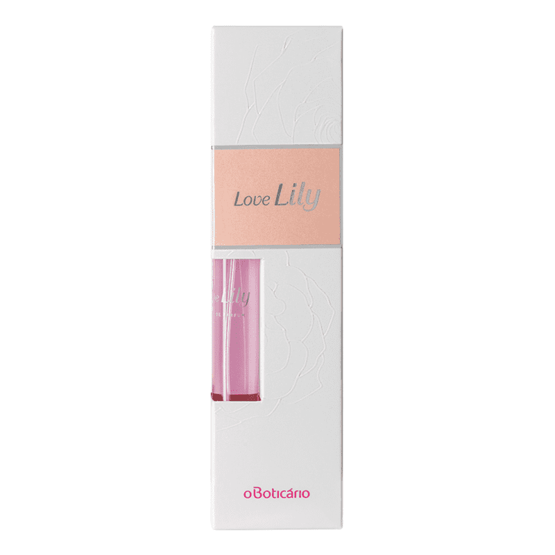 Kit Love Lily Mini: Eau de Parfum, 10ml + Creme Acetinado, 40g