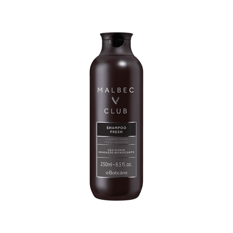 Shampoo Fresh Malbec Club, 250 ml