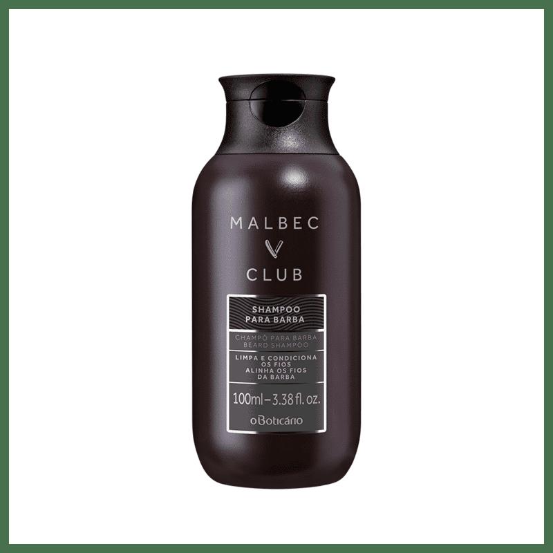 Shampoo Para Barba Malbec Club, 100 ml