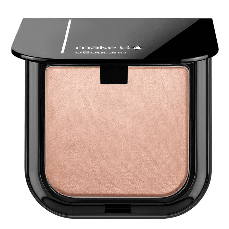Make B. Pó Compacto Facial Iluminador Rose, 5,4g