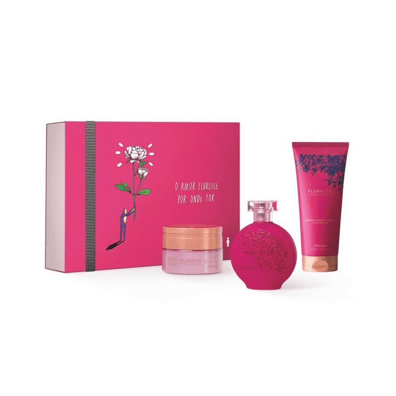 Kit Floratta Flores Secretas