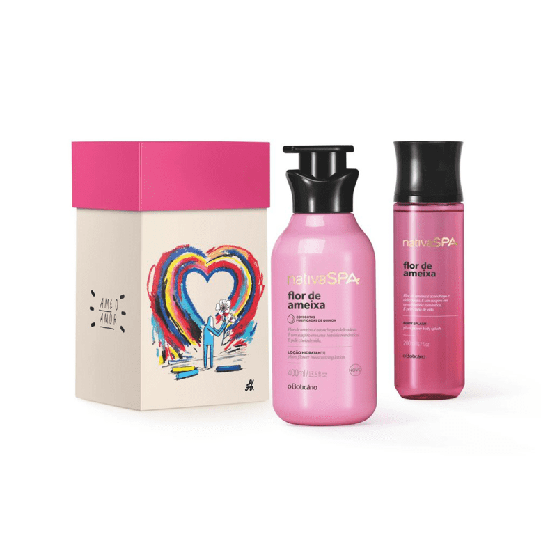 Kit Nativa Spa Flor De Ameixa