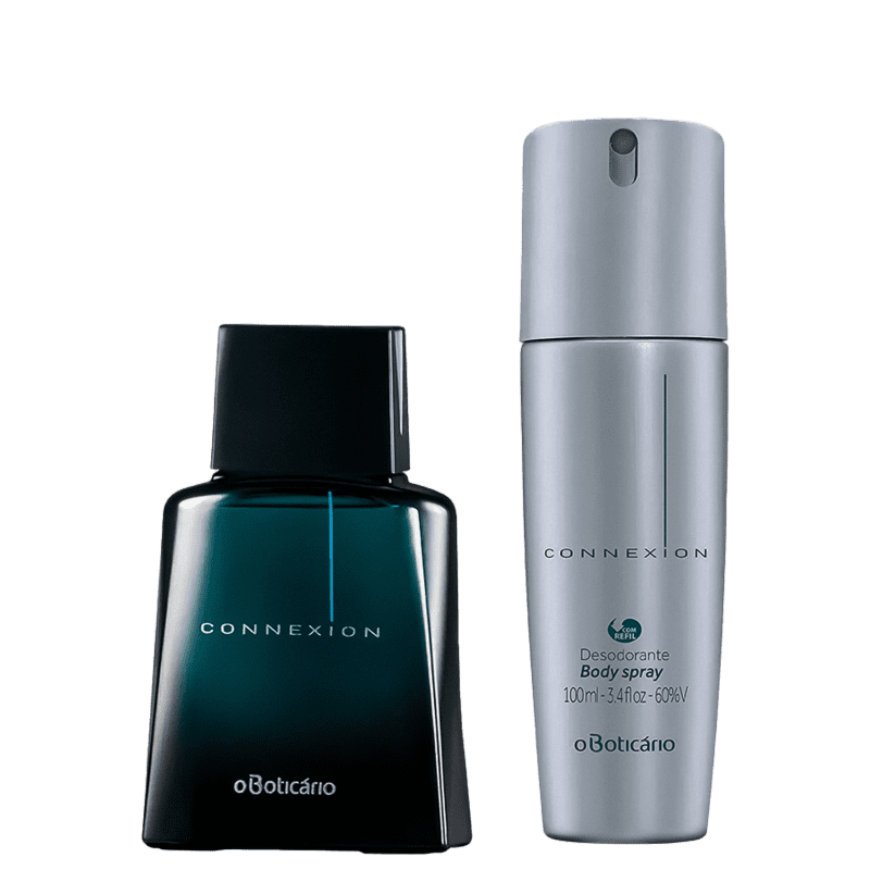 Combo Connexion: Desodorante Colônia 100Ml + Body Splash 100Ml