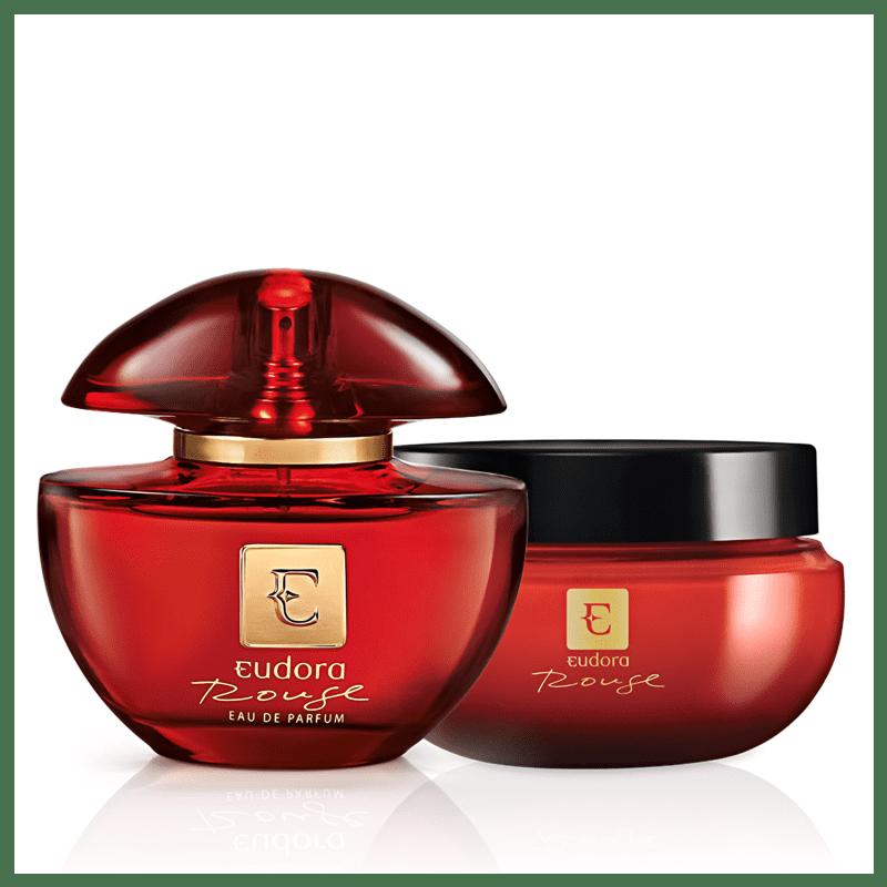 Kit Eudora Rouge Eau de Parfum + Creme Hidratante