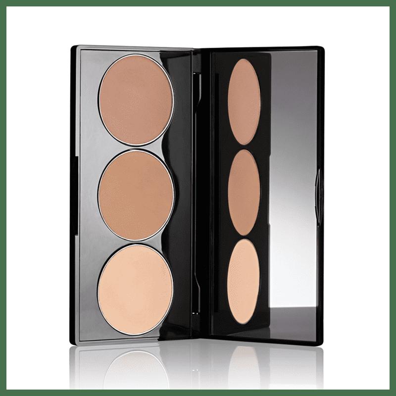 Paleta Contorno Facial Glam Skin Perfection 4g