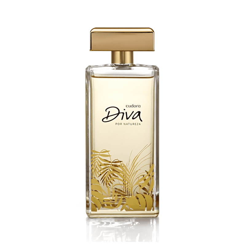 Colônia Desodorante Diva por Natureza 100ml