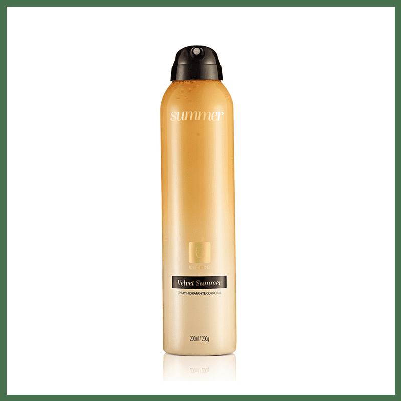 Spray Hidratante Desodorante Corporal Velvet Summer 200ml