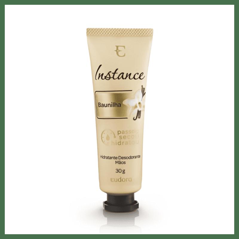 Creme Desodorante Hidratante Mãos Instance Baunilha 30g