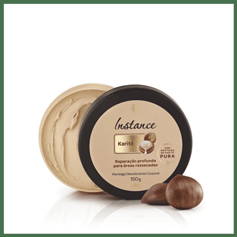 Manteiga Desodorante Corporal Karité Instance 150g