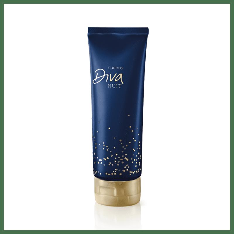 Loção Desodorante Hidratante Corporal Diva Nuit 200ml