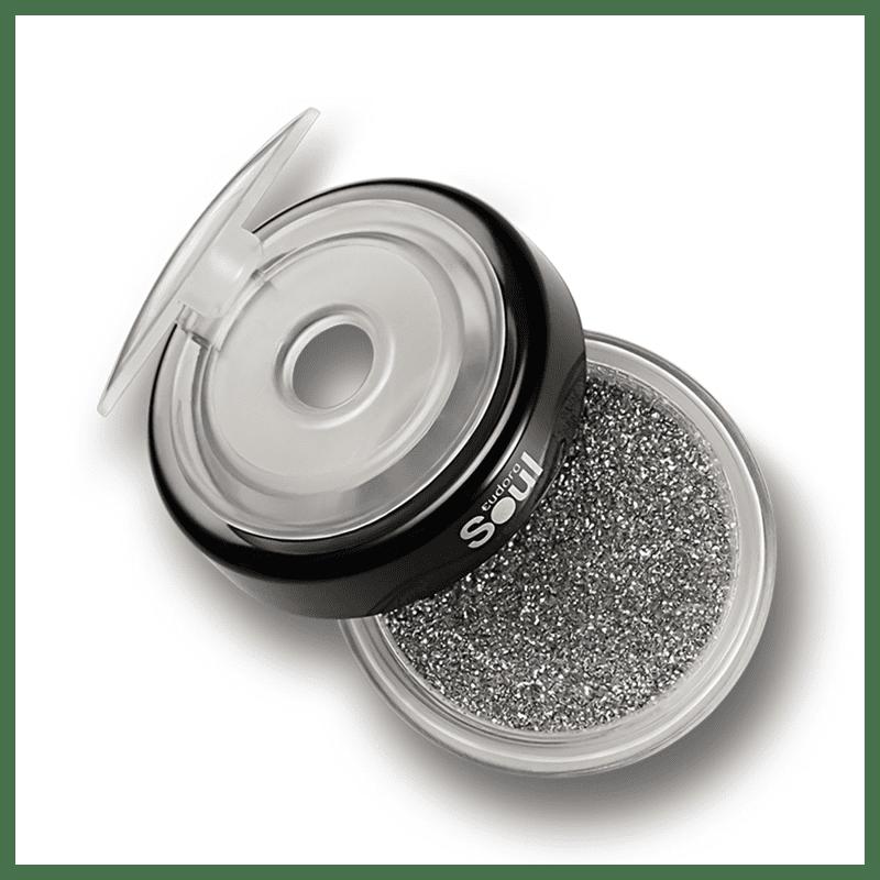 Puro Glitter Soul Prata Multifuncional 2,5g