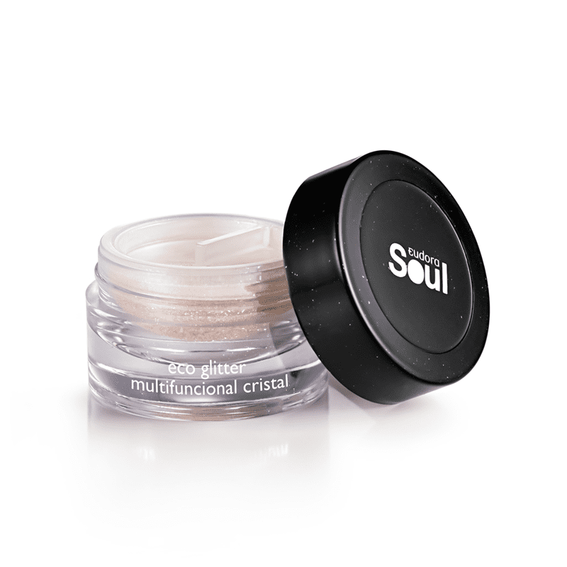Bio Glitter Soul Multifuncional Cristal 1,6g