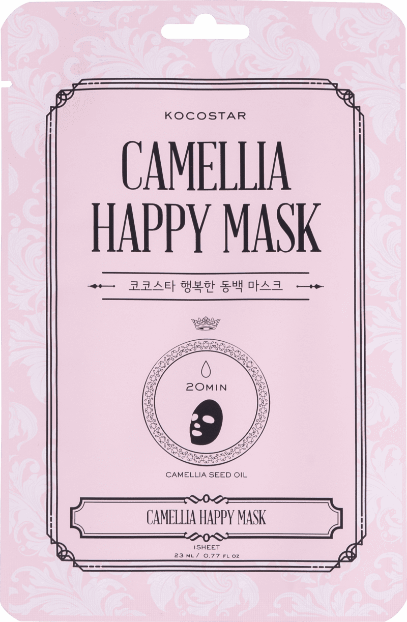 Kocostar Happy Mask Camellia - Máscara Facial 35g