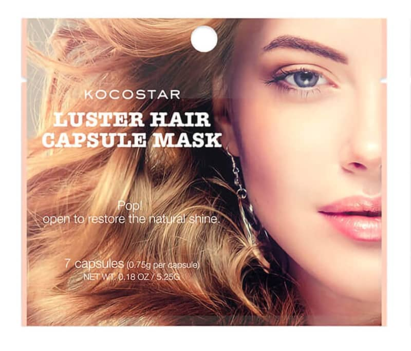 Kocostar Capsule Mask Luster Hair - Cápsulas para cabelos 10g