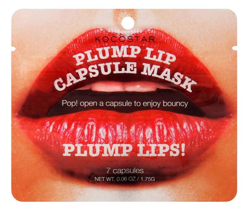 Kocostar Capsule Mask Plump Lips – Cápsulas para lábios 10g