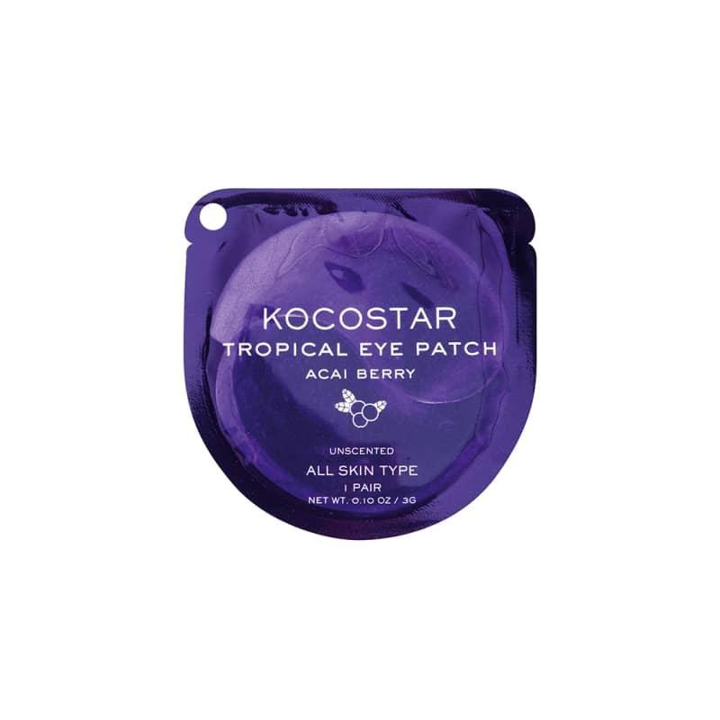 Kocostar Tropical Eye Patch Açai Berry - Máscara para região dos olhos 5g