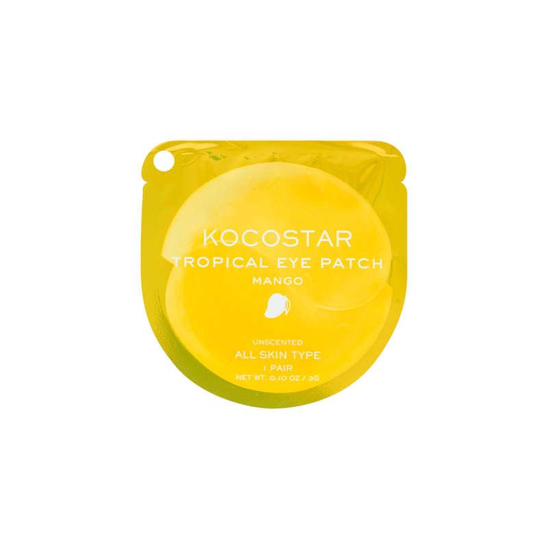 Kocostar Tropical Eye Patch Mango - Máscara para região dos olhos 5g