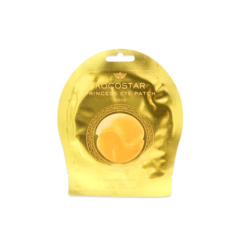 Kocostar Princess Eye Patch Gold - Máscara para região dos olhos 10g
