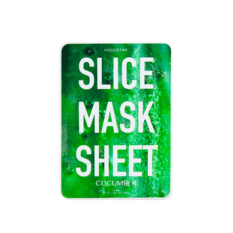 Kocostar Slice Mask Sheet Cucumber – Máscara  Facial 30g