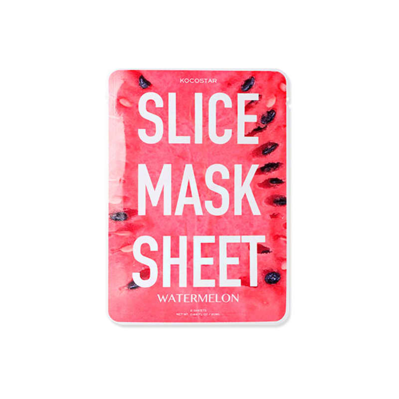 Kocostar Slice Mask Sheet Watermelon – Máscara  Facial 30g