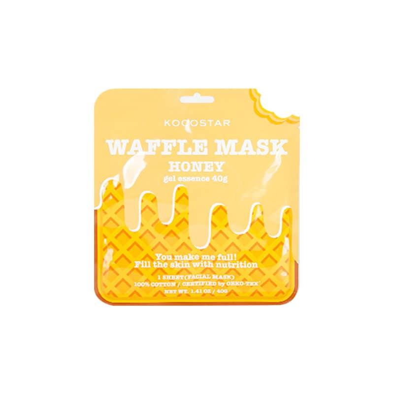 Kocostar Waffle Mask Honey – Máscara Facial 50g
