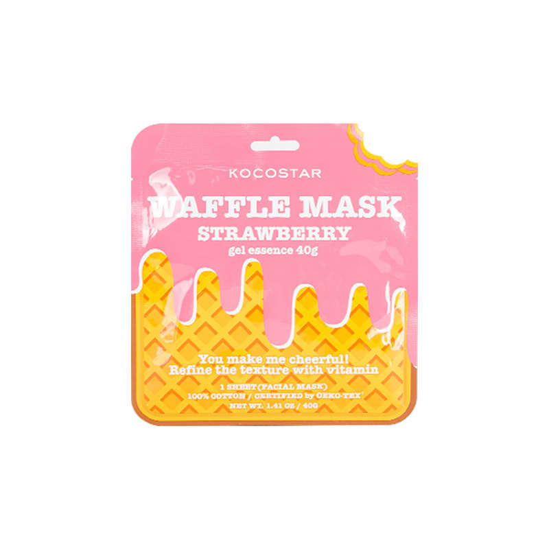 Kocostar Waffle Mask Strawberry – Máscara Facial 50g