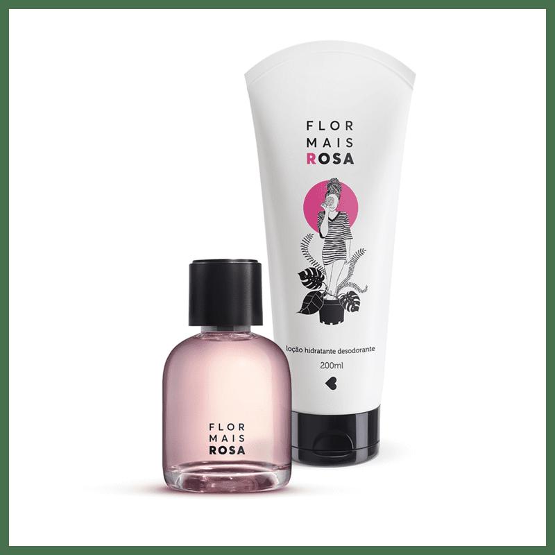 Kit Flor Mais Rosa: Desodorante Colônia 75ml + Desodorante Loção Hidratante Corporal