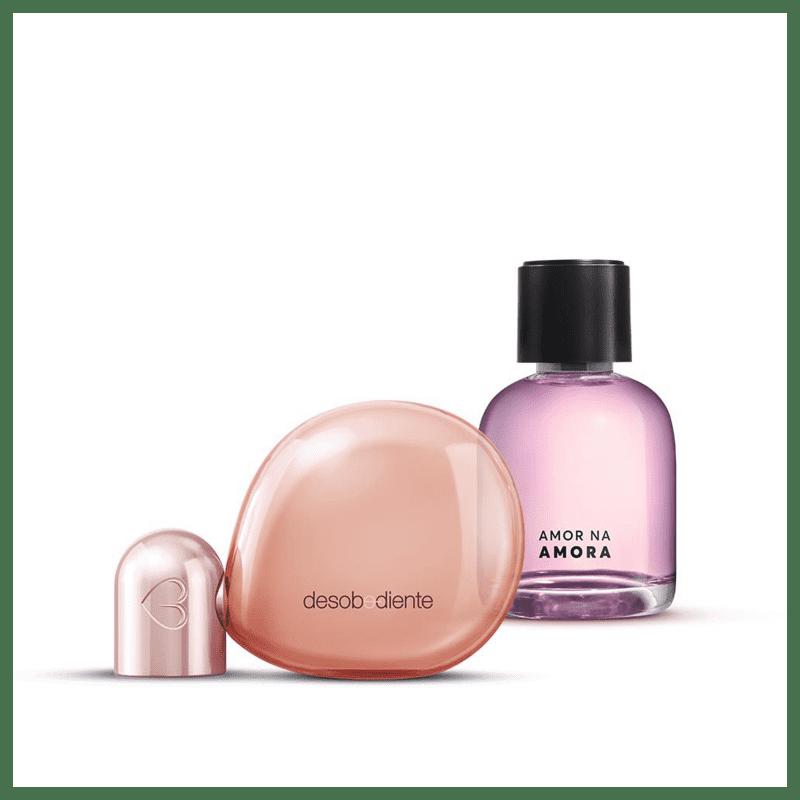 Kit Desobediente Eau de Parfum 100ml + Amor na Amora Desodorante Colônia 75ml