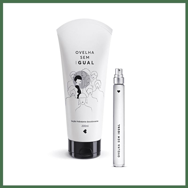 Kit Ovelha Sem Igual: Desodorante Colônia 10ml + Desodorante Loção Hidratante Corporal