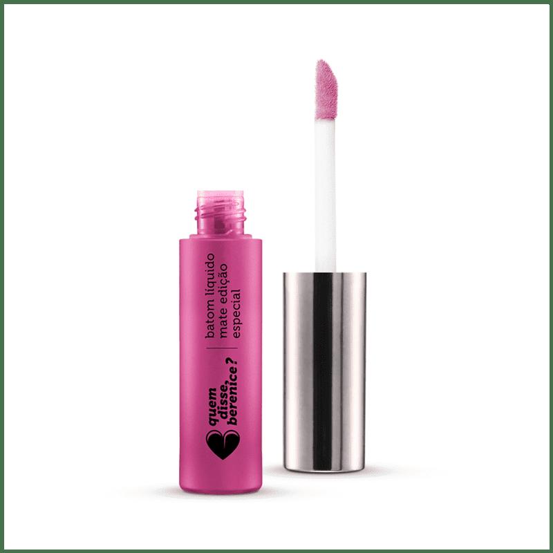 Batom Líquido Mate Edição Especial Pink de Verdade