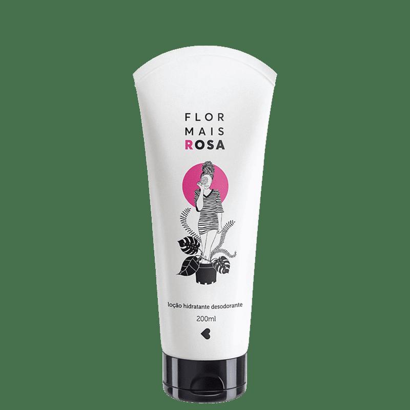 Flor Mais Rosa Desodorante Loção Hidratante Corporal 200ml