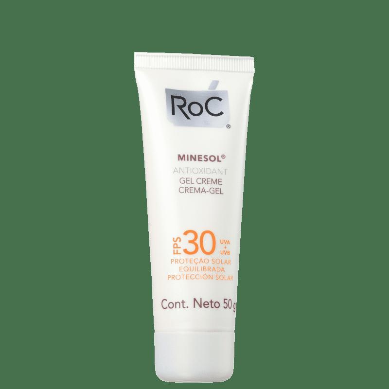RoC Minesol Antioxidante FPS 30 - Protetor Solar Facial 50g