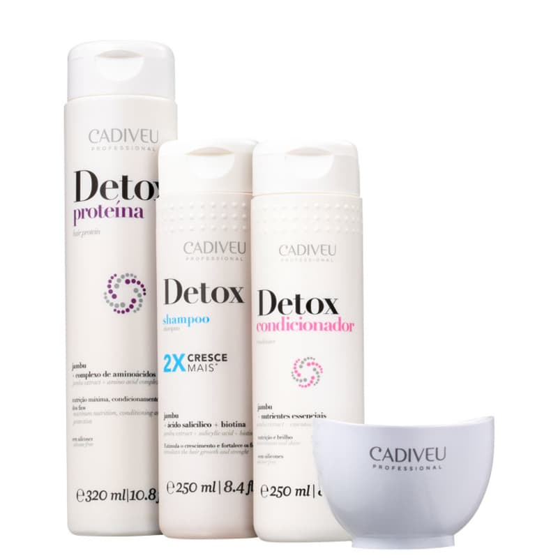 Kit Cadiveu Professional Detox Home Care + Pote (3 Produtos)