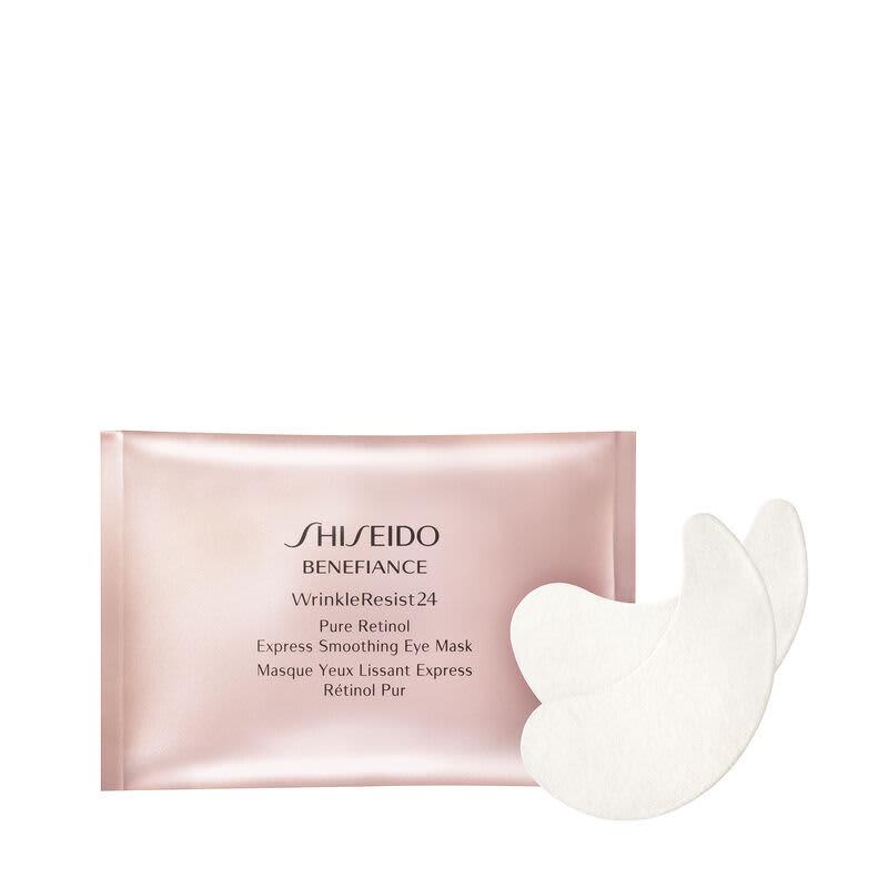 Shiseido Benefiance Wrinkle Resist24 Pure Retinol - Máscara Anti-Idade para Área dos Olhos (12 Sachês)