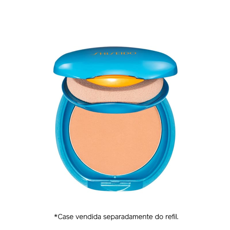 Shiseido UV Protective Compact Foundation Fair Ivory - Protetor Solar Facial Compacto FPS 35 Refil 12g