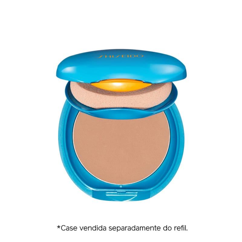 Shiseido UV Protective Compact Foundation Medium Ivory - Protetor Solar Facial Compacto FPS 35 Refil 12g