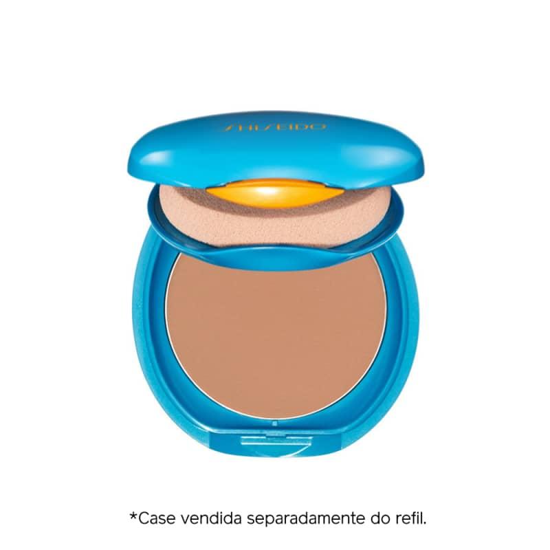 Shiseido UV Protective Compact Foundation Medium Ochre - Protetor Solar Facial Compacto FPS 35 Refil 12g