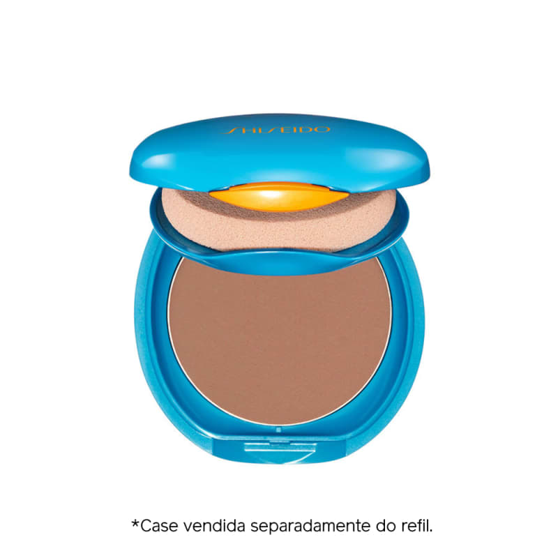Shiseido UV Protective Compact Foundation Dark Beige - Protetor Solar Facial Compacto FPS 35 Refil 12g