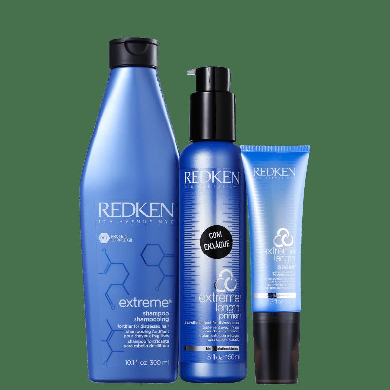 Redken Extreme Length Basic Kit (3 Produtos)