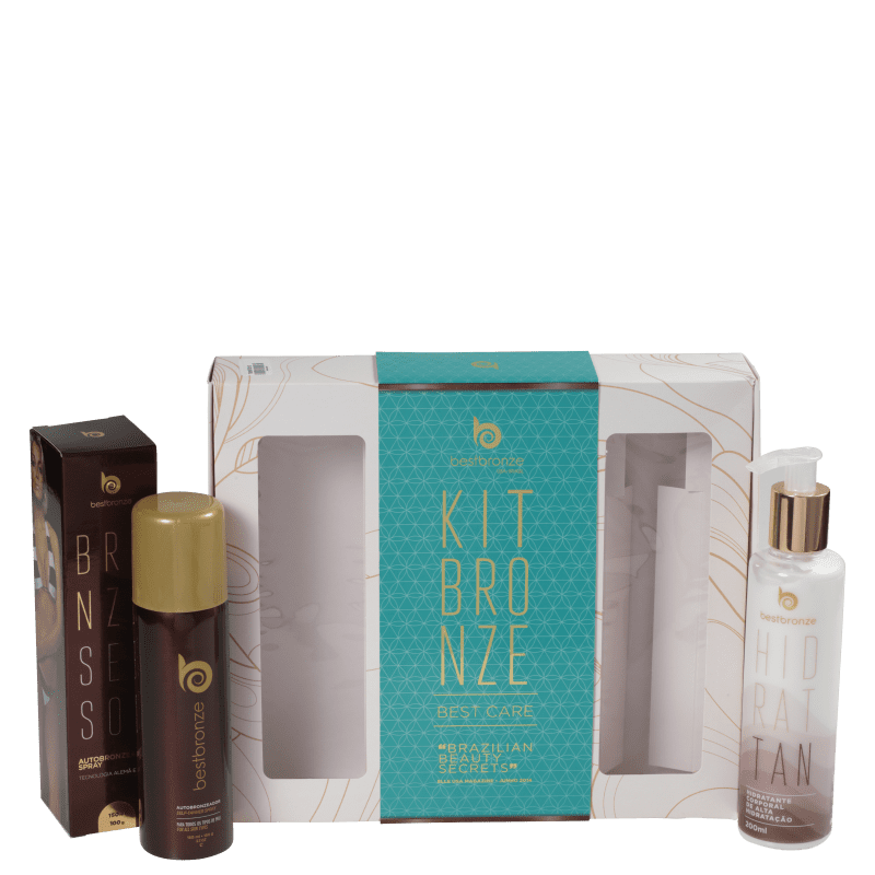 Kit Best Bronze Presente Best Care (2 produtos)