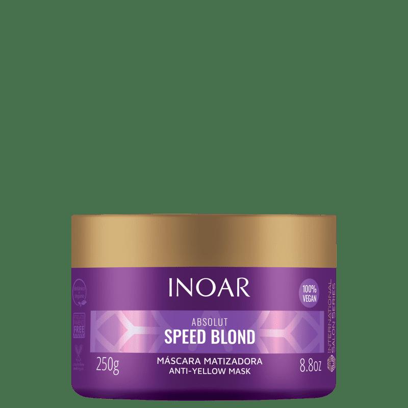 Inoar Absolut Speed Blond - Máscara Capilar 250g
